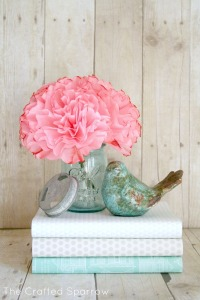 Beautiful spring vignette from www.snapcreativity.com